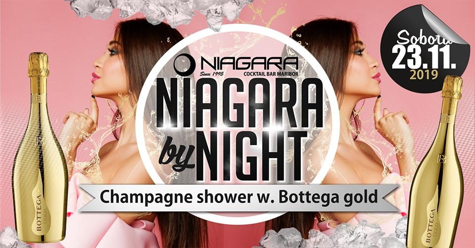 Niagara by Night & Bottega champagne shower