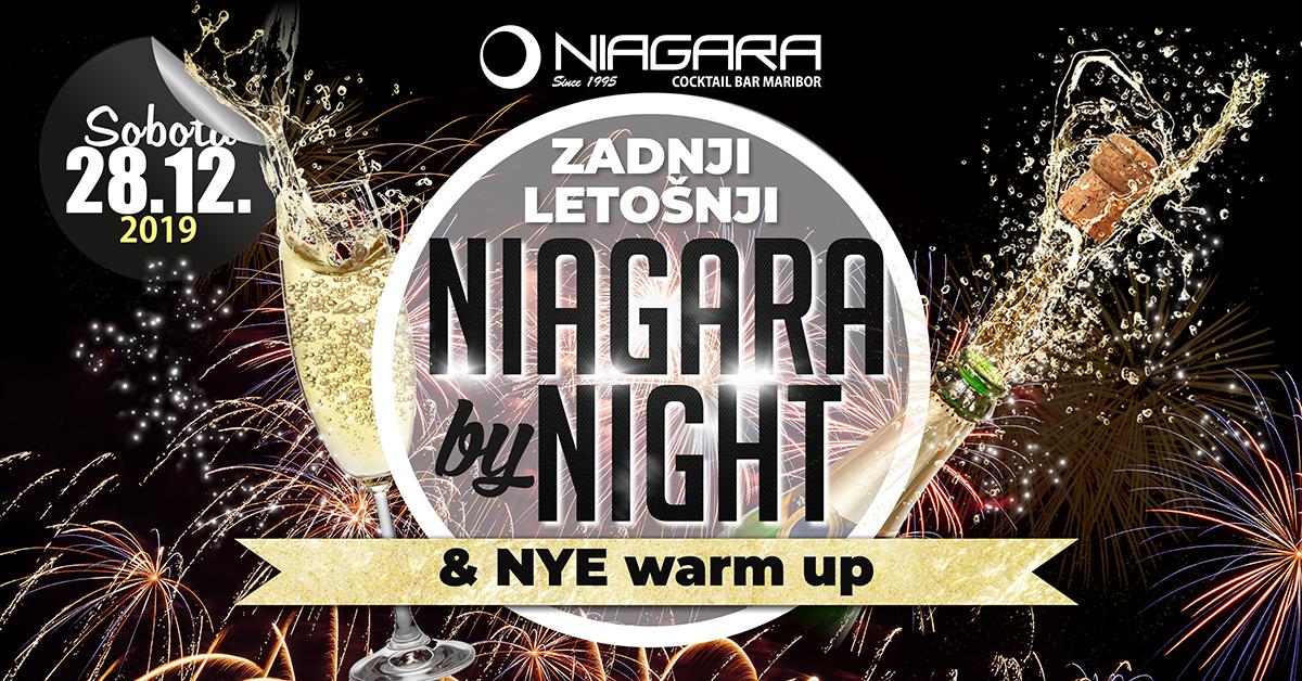 Zadnji letošnji Niagara by Night & NYE warm up